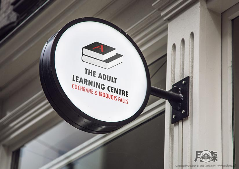 Leaflet - Identity - The Adult Learning Centre- Tsukimori / Kevin Barbier - Graphic Designer