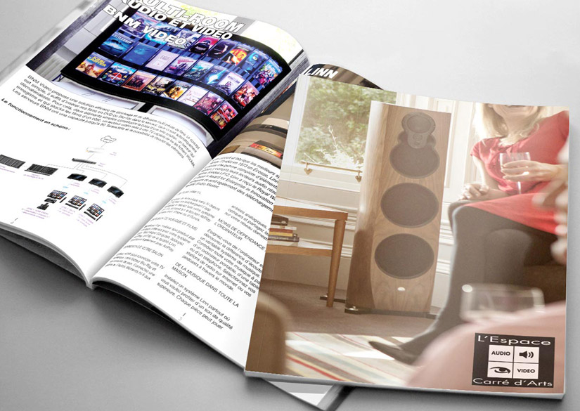 Magazine - Print - L'Espace Carré d'Arts - Tsukimori / Kevin Barbier - Graphic Designer