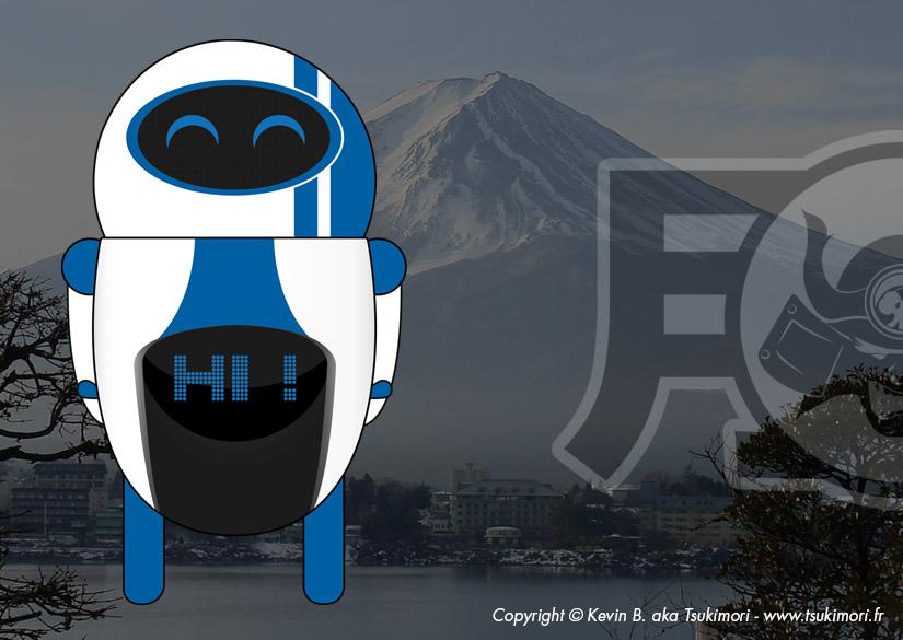 Noru - Illustration - Tsukimori / Kevin Barbier - Graphic Designer