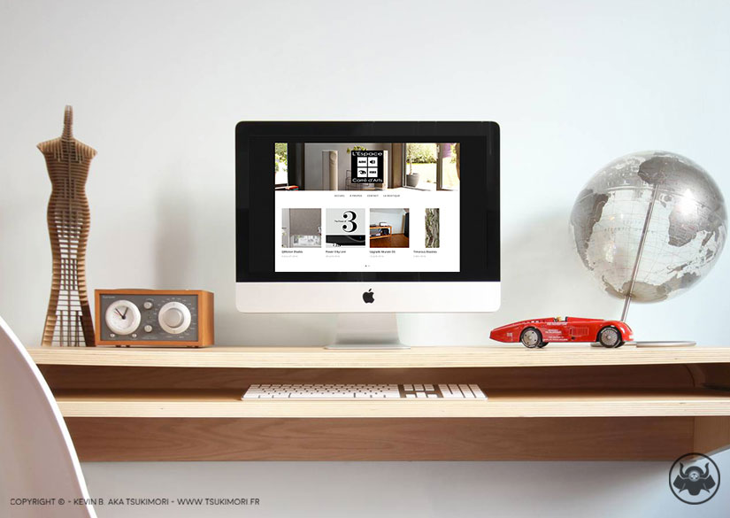 Blog - Website - L'Espace Carré d'Arts - Tsukimori / Kevin Barbier - Graphic Designer