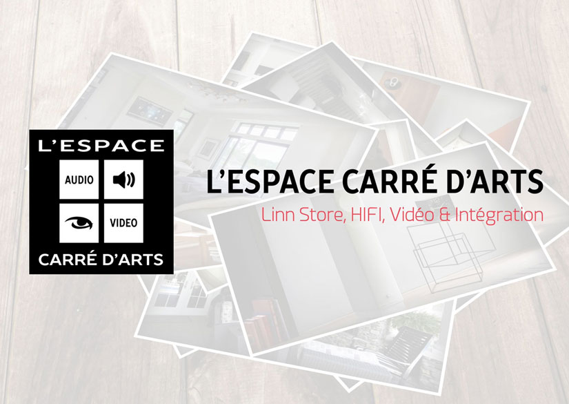 Intro - Motion design / Video montage - L'Espace Carré d 'Arts - Tsukimori / Kevin Barbier - Graphic Designer