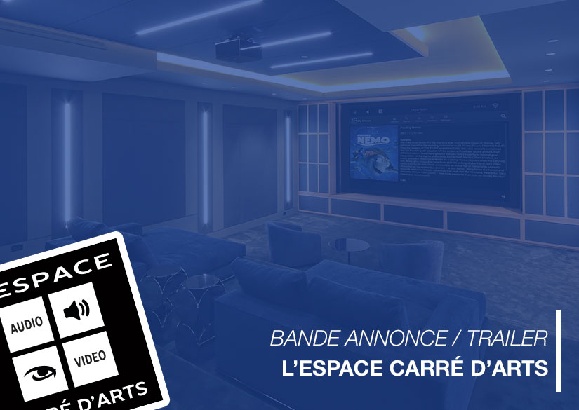 Trailer - Motion design / Video montage - L'Espace Carré d 'Arts - Tsukimori / Kevin Barbier - Graphic Designer