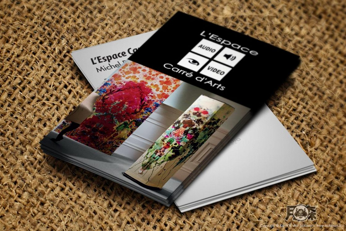 business-cards-LEspace-Carre-dArts-Tsukimori-print